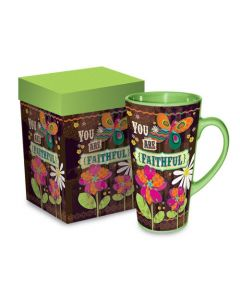 You Are Faithful Christian Coffee Mug Gift Boxed