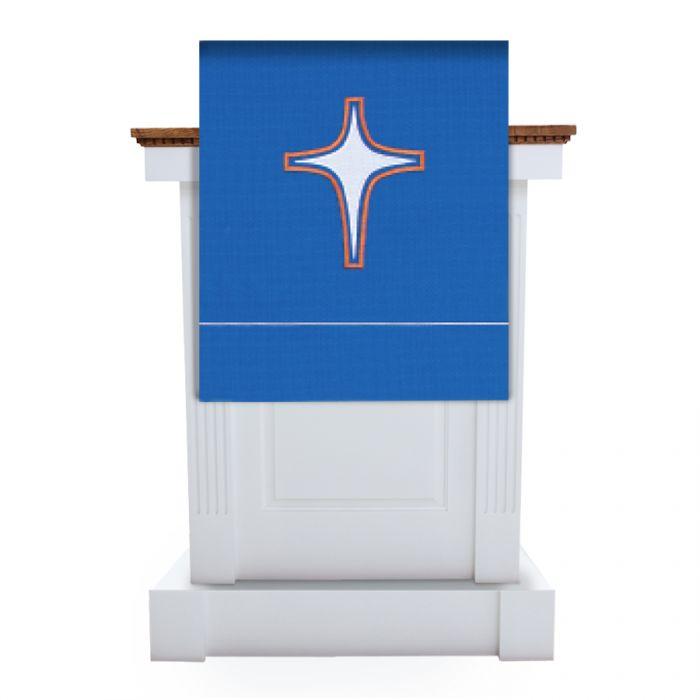 Blue Advent Pulpit Scarf Celebration Series