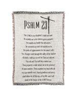 THROW-COTTON-46X68 PSALM 23