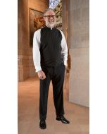 Wool Blend Roman Clergy Shirtfront Vest