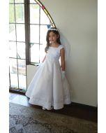 Bridal Satin First Communion Dress