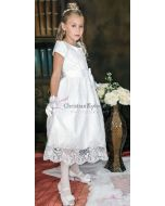 Satin and Sequins First Communion Dress