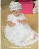 Girls Christening Gown Style Madison
