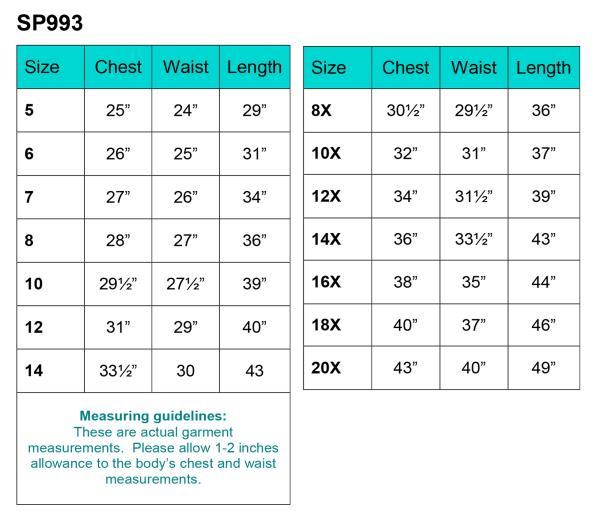 First Communion Dress Plus Size Chart